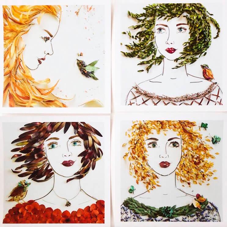 Ilustraciones botánicas Las particulares obras artísticas que te sorprenderán 14