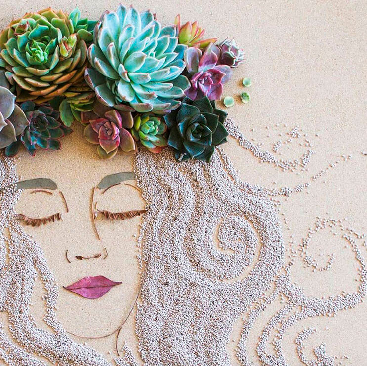 Ilustraciones botánicas Las particulares obras artísticas que te sorprenderán 6