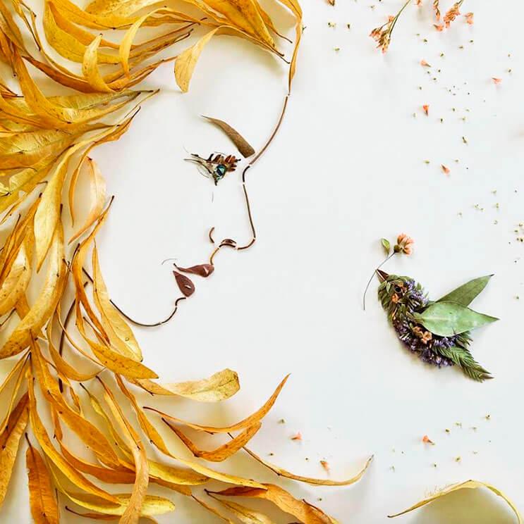 Ilustraciones botánicas Las particulares obras artísticas que te sorprenderán 8