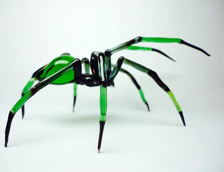 Impresionantes animales hechos de vidrio soplado 04