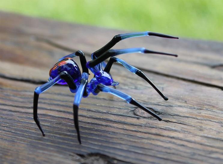 Impresionantes animales hechos de vidrio soplado 09