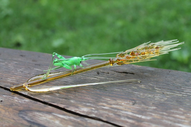 Impresionantes animales hechos de vidrio soplado 11