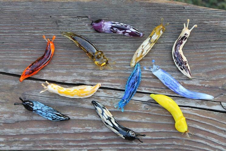 Impresionantes animales hechos de vidrio soplado 13
