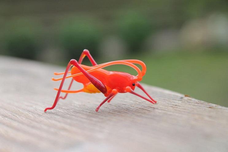 Impresionantes animales hechos de vidrio soplado 15