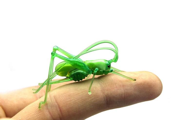 Impresionantes animales hechos de vidrio soplado 16