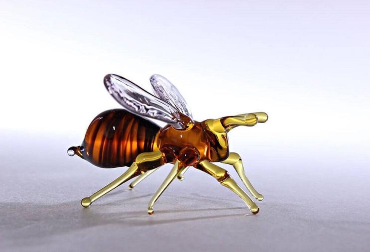 Impresionantes animales hechos de vidrio soplado 17