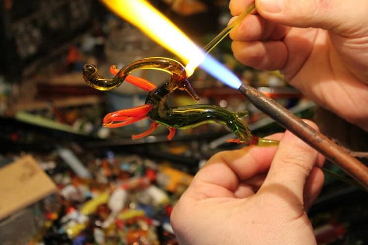 Impresionantes animales hechos de vidrio soplado 26