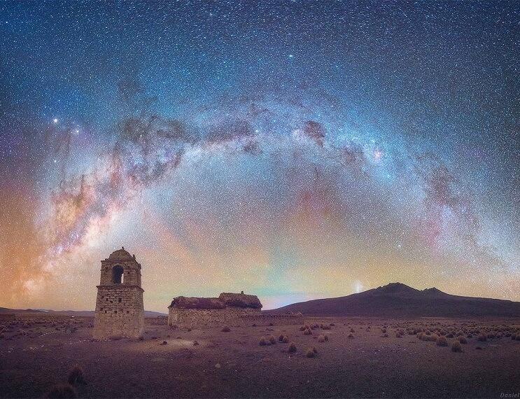 Incomparable fotógrafo ruso captura la esencia de la Vía Láctea 6