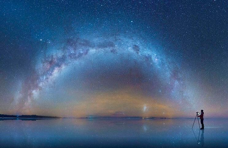 Incomparable fotógrafo ruso captura la esencia de la Vía Láctea