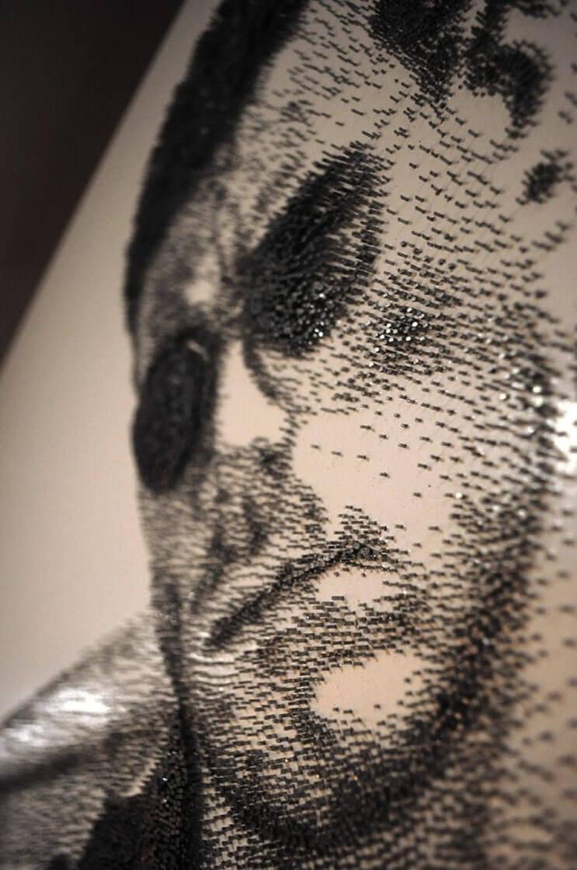 Increíbles esculturas creadas con clavos por el artista Marcus Levine 4