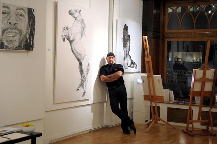 Increíbles esculturas creadas con clavos por el artista Marcus Levine 9