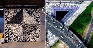 Increíbles murales que te llevarán a otro universo