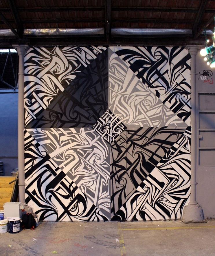 Increíbles murales que te llevarán otro universo 02