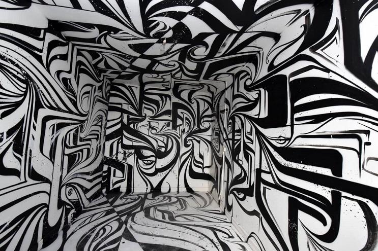 Increíbles murales que te llevarán otro universo 03