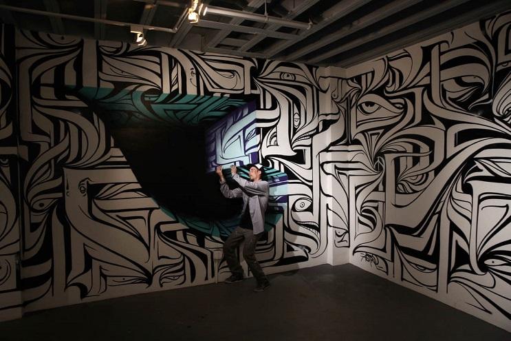 Increíbles murales que te llevarán otro universo 06