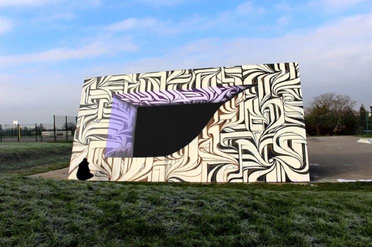 Increíbles murales que te llevarán otro universo 09