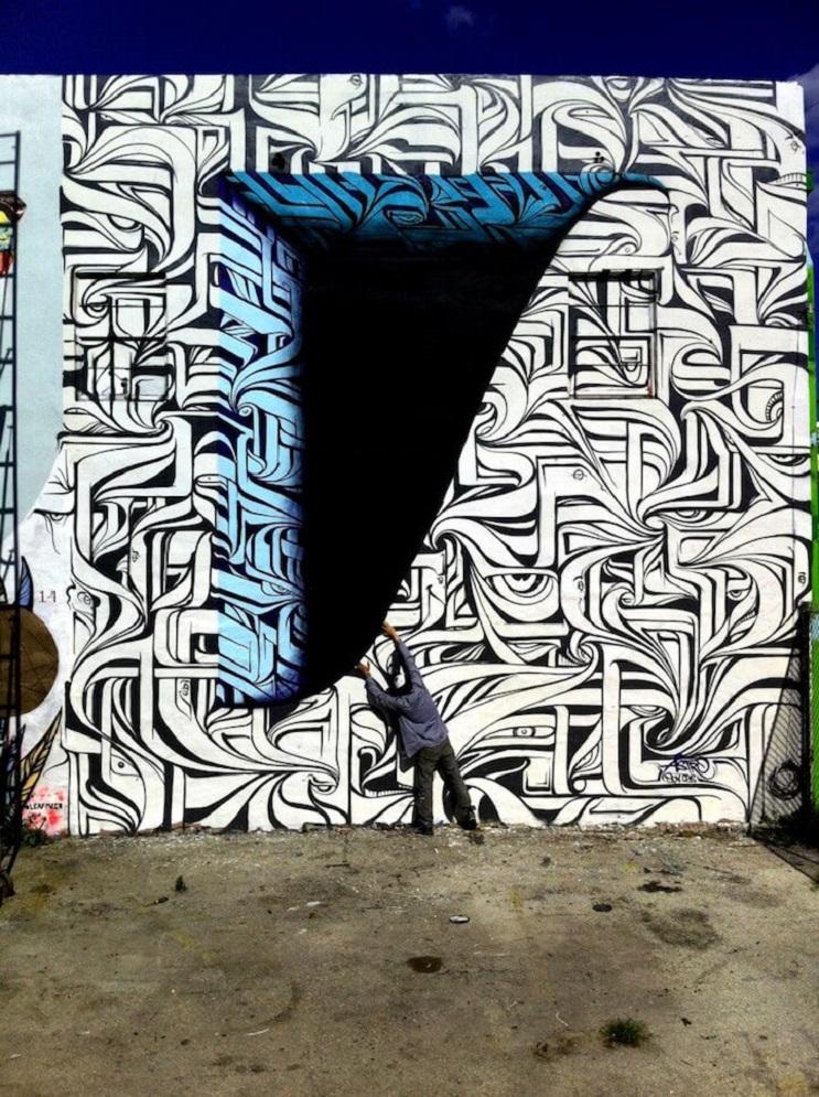 Increíbles murales que te llevarán otro universo 10