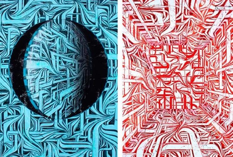 Increíbles murales que te llevarán otro universo 12