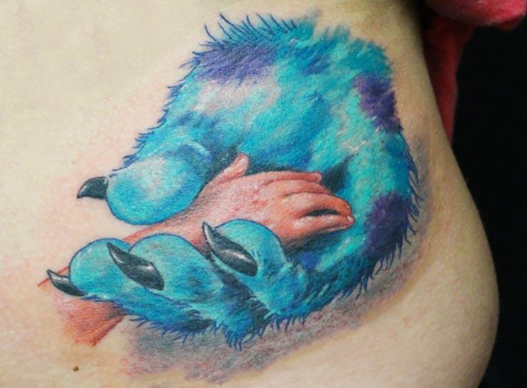 Increíbles tatuajes inspirados en las películas de Pixar 14