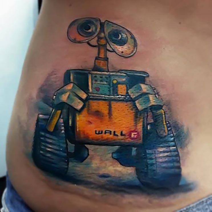 Increíbles tatuajes inspirados en las películas de Pixar 3