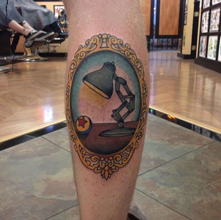 Increíbles tatuajes inspirados en las películas de Pixar 4
