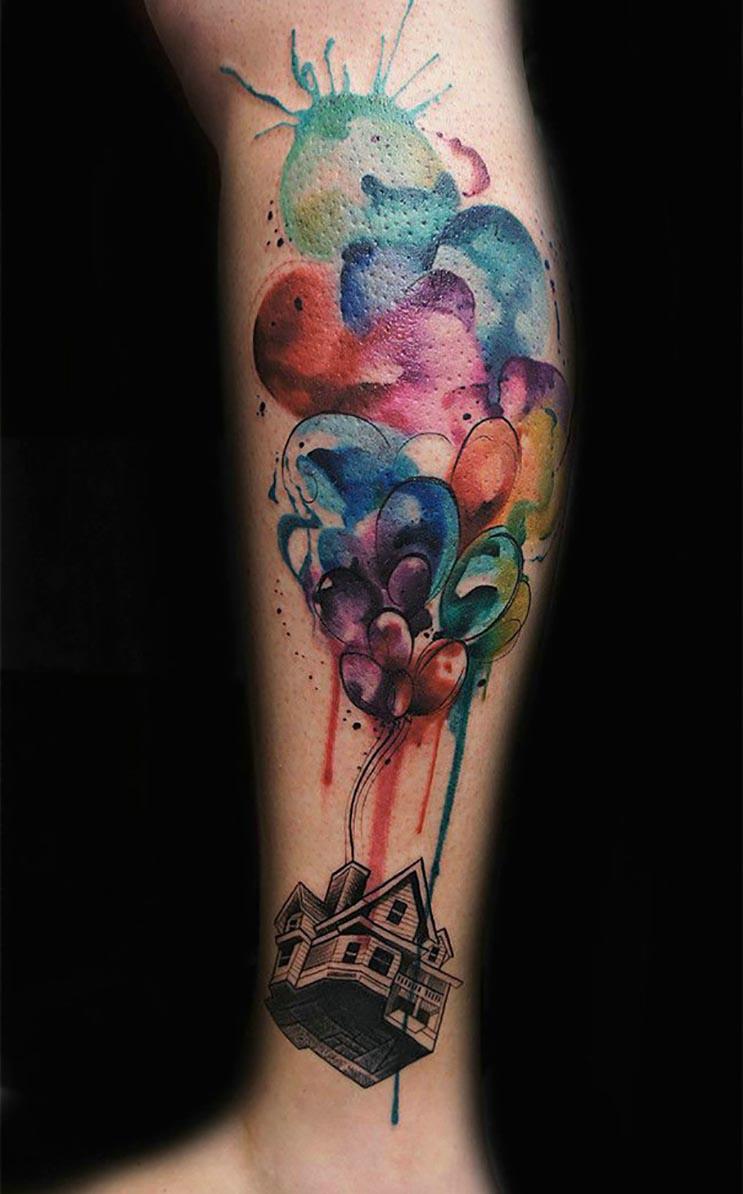 Increíbles tatuajes inspirados en las películas de Pixar 8