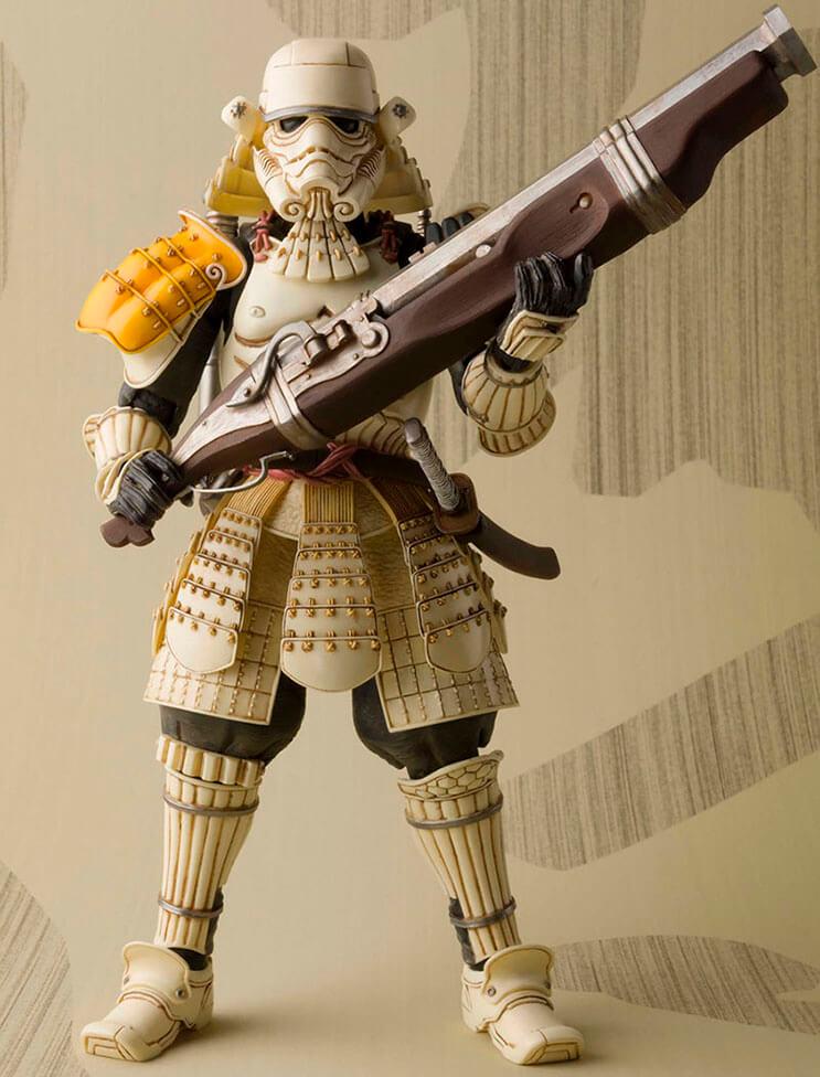 Insólito Los extraordinarios samurái de Star Wars 2