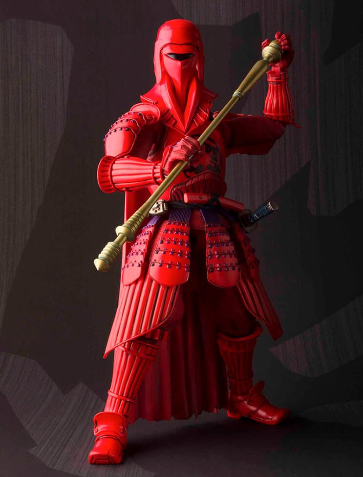 Insólito Los extraordinarios samurái de Star Wars 3