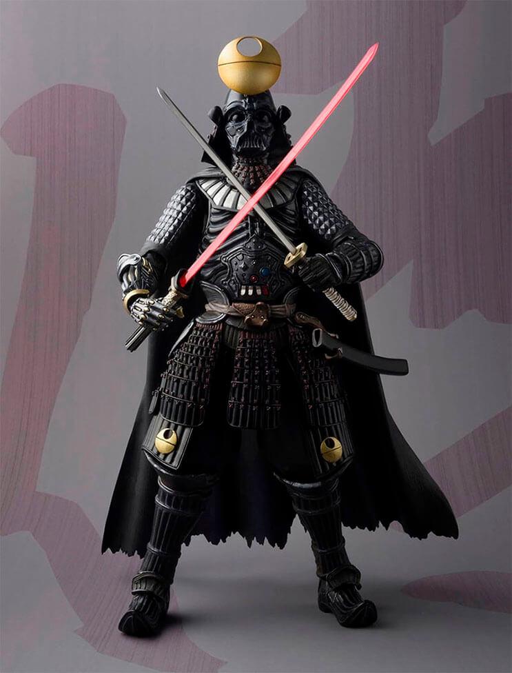 Insólito Los extraordinarios samurái de Star Wars 4
