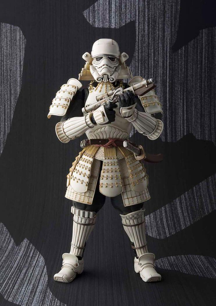Insólito Los extraordinarios samurái de Star Wars 5