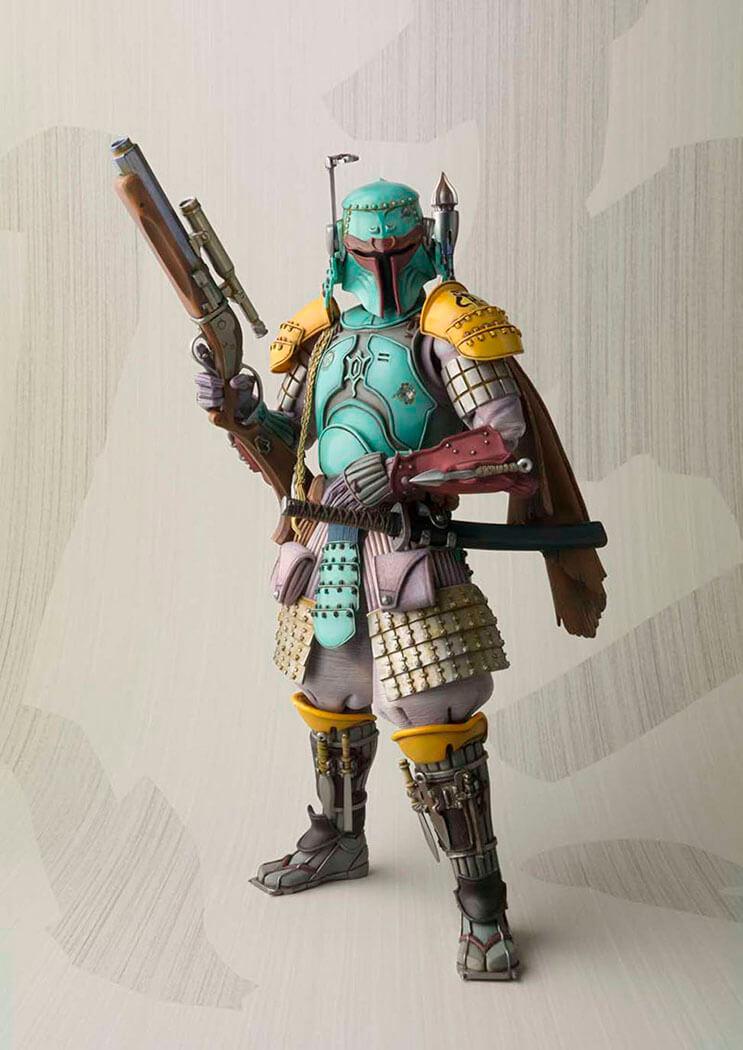Insólito Los extraordinarios samurái de Star Wars 6