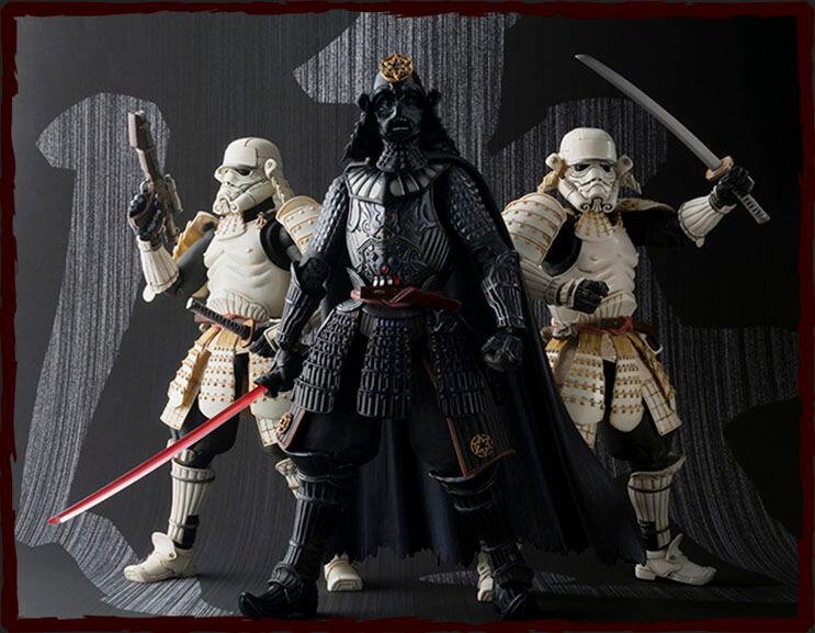 Insólito Los extraordinarios samurái de Star Wars 7