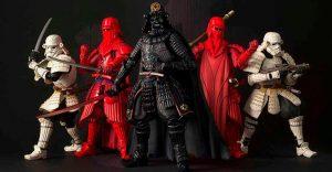 Insólito: Los extraordinarios samurái de Star Wars