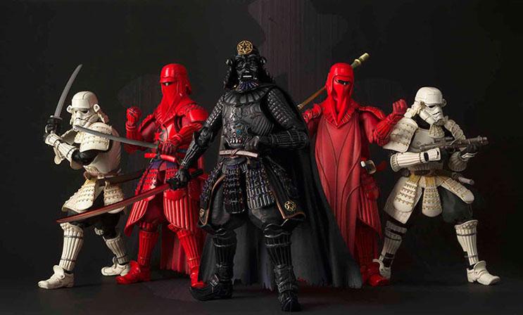 Insólito Los extraordinarios samurái de Star Wars