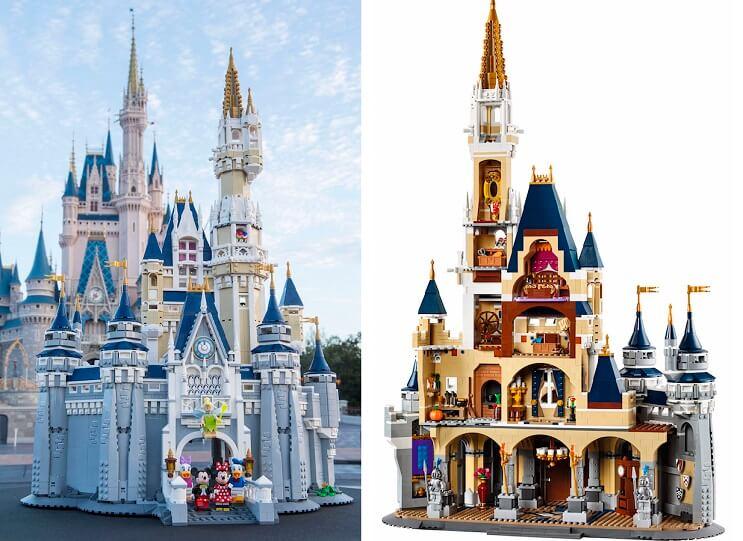 LEGO anuncia la llegada del castillo de Disney y se ve genial 01