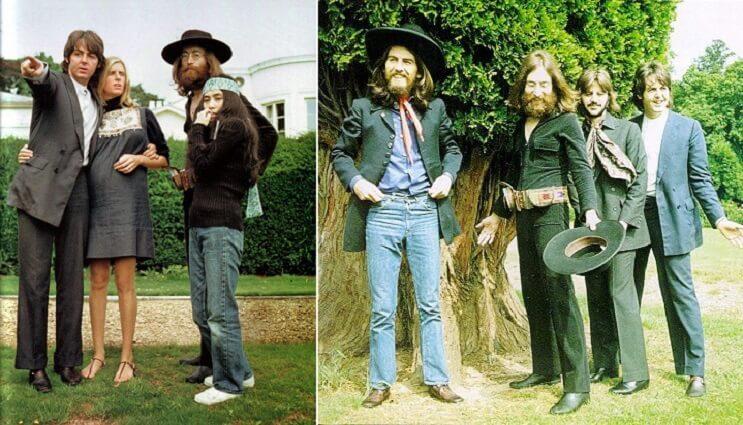 La última sesión fotografíca de los Beatles 004