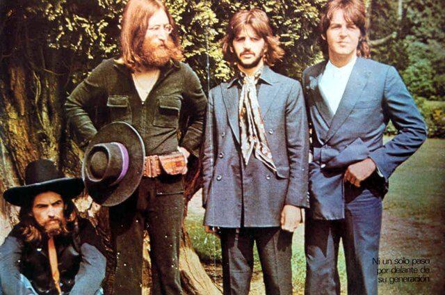 La última sesión fotografíca de los Beatles 05