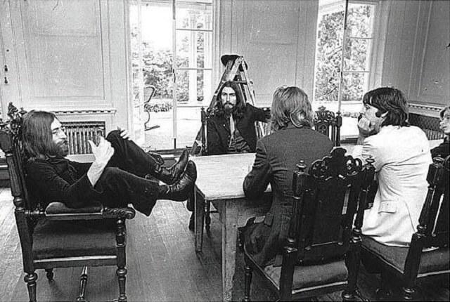 La última sesión fotografíca de los Beatles 11