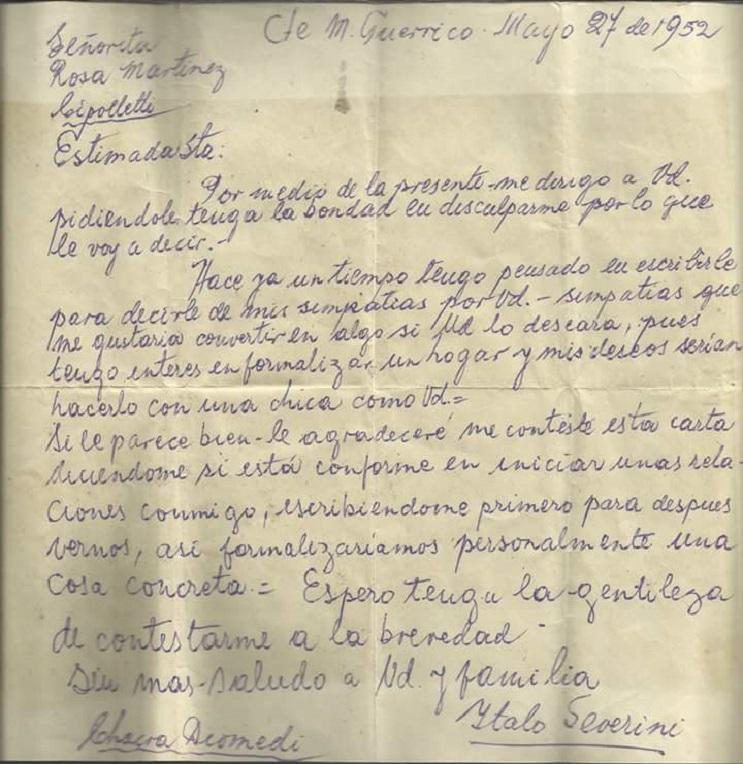 La historia de la carta de amor que le ganó al tiempo y se volvió viral - carta