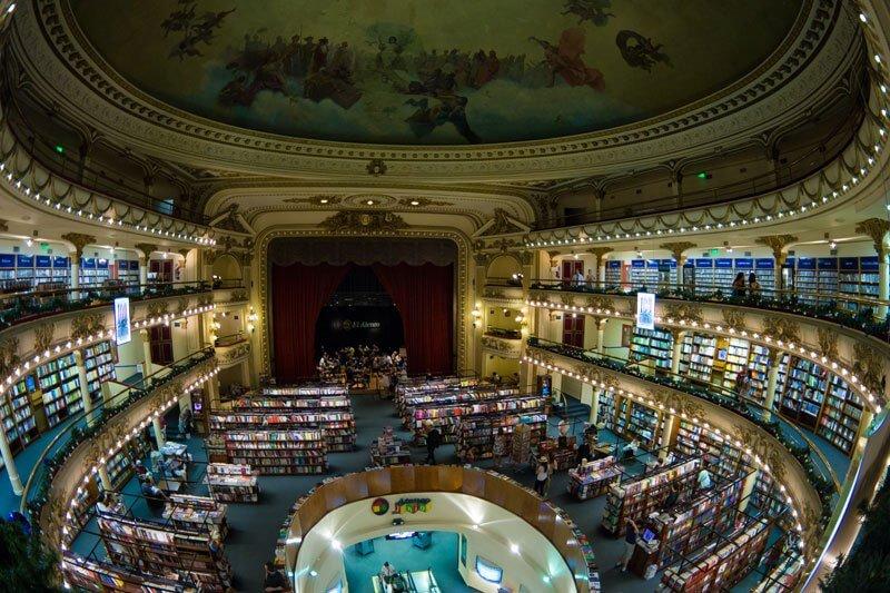 La librería más bella del mundo situada en un antiguo teatro de Argentina 02