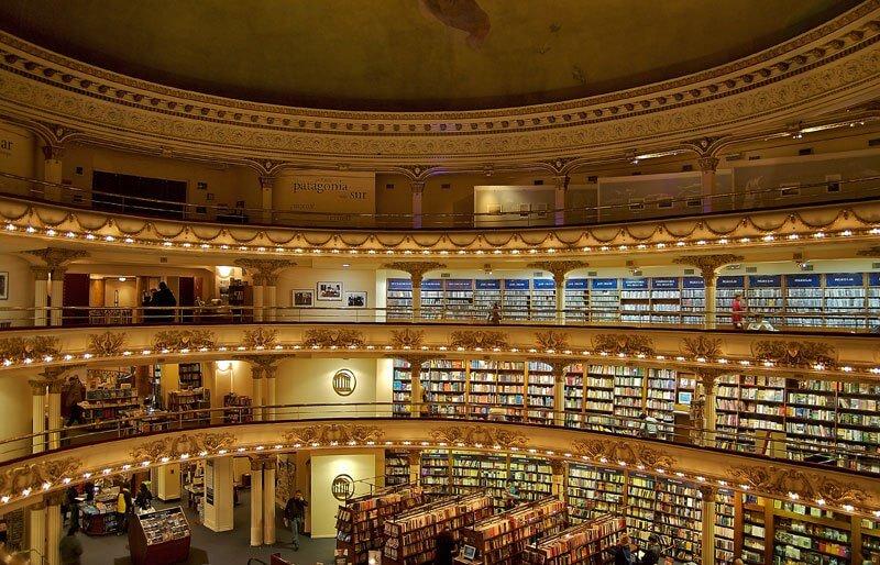 La librería más bella del mundo situada en un antiguo teatro de Argentina 03