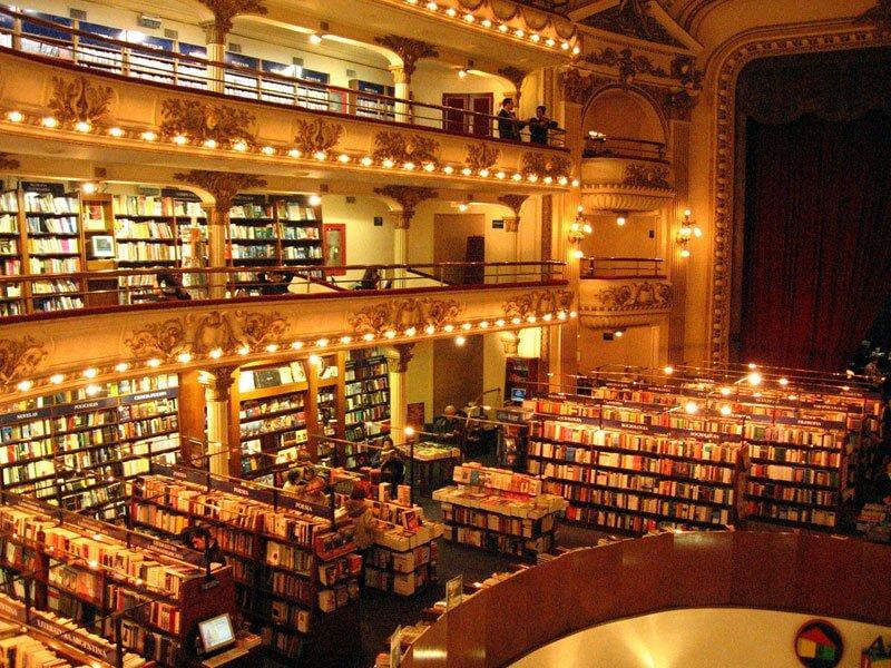 La librería más bella del mundo situada en un antiguo teatro de Argentina 04
