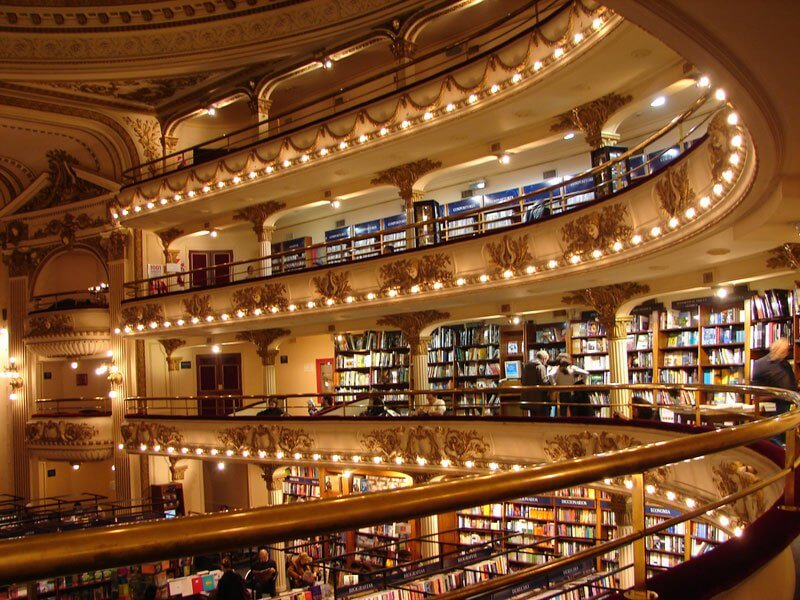 La librería más bella del mundo situada en un antiguo teatro de Argentina 05