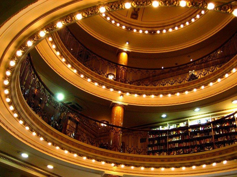 La librería más bella del mundo situada en un antiguo teatro de Argentina 07