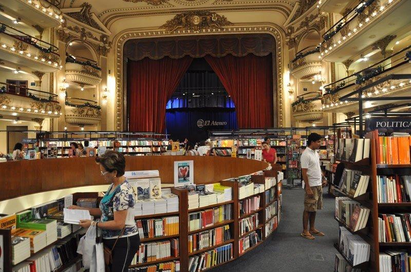 La librería más bella del mundo situada en un antiguo teatro de Argentina 08