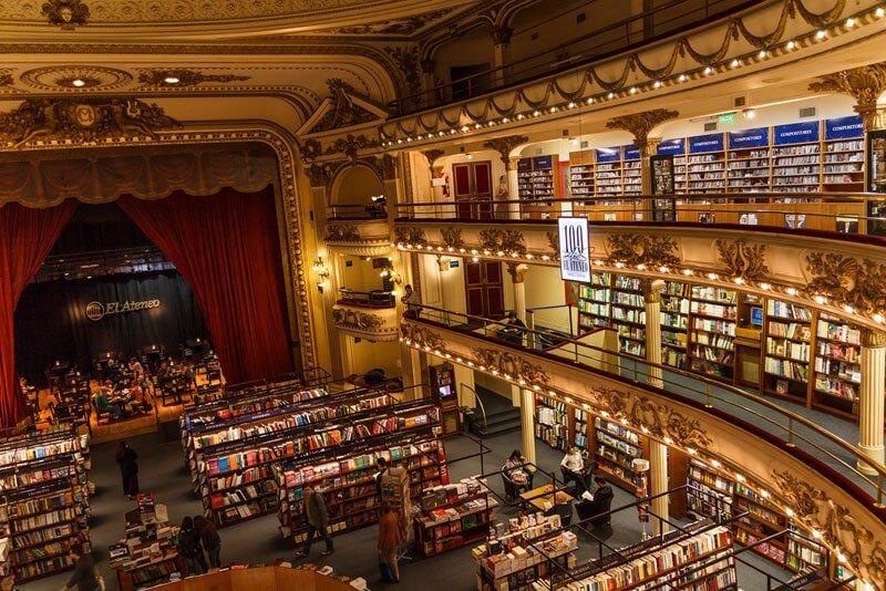 La librería más bella del mundo situada en un antiguo teatro de Argentina 09