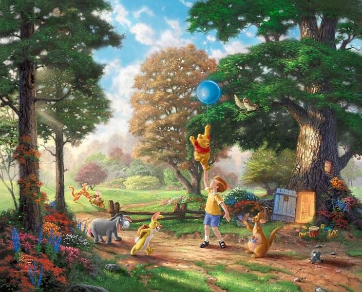 Las pinturas de Disney de este artista se ven mejor que las escenas originales 05