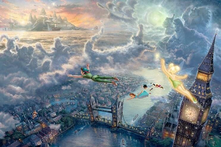 Las pinturas de Disney de este artista se ven mejor que las escenas originales 12