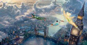 Las pinturas de Disney de este artista se ven mejor que las escenas originales