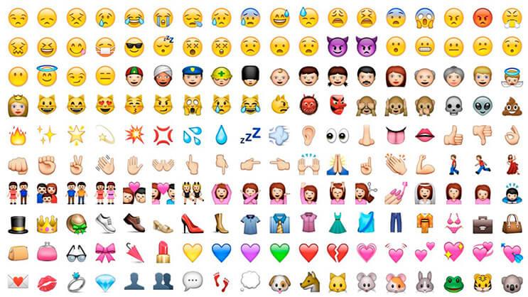 Los emojis que toda mujer necesita ya están aqui